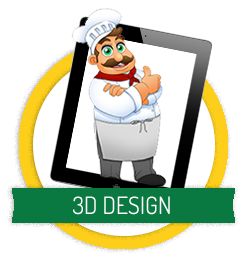 button-3D-design-de